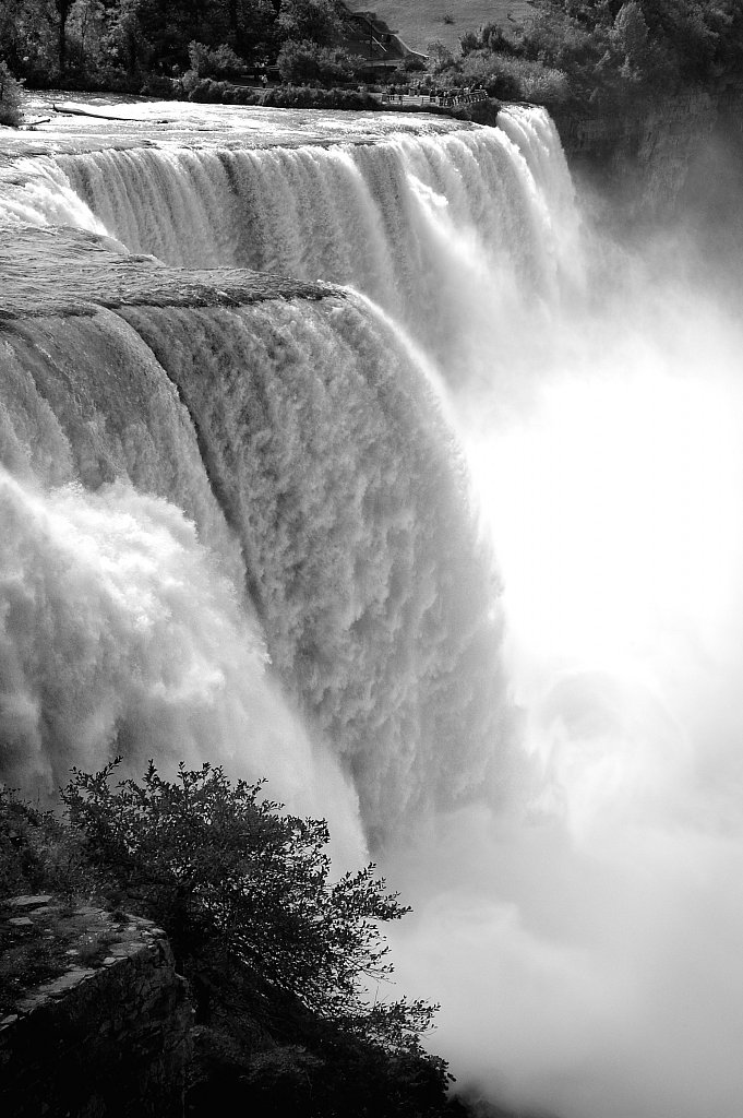 Niagara Falls. American side.