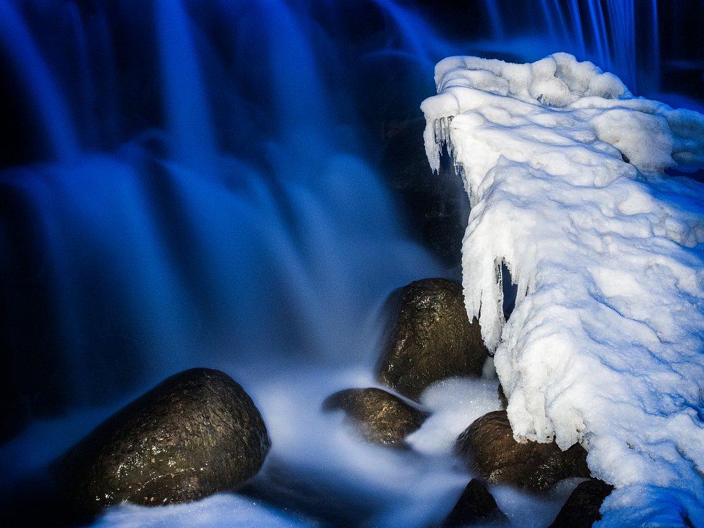 Blue Water Falls