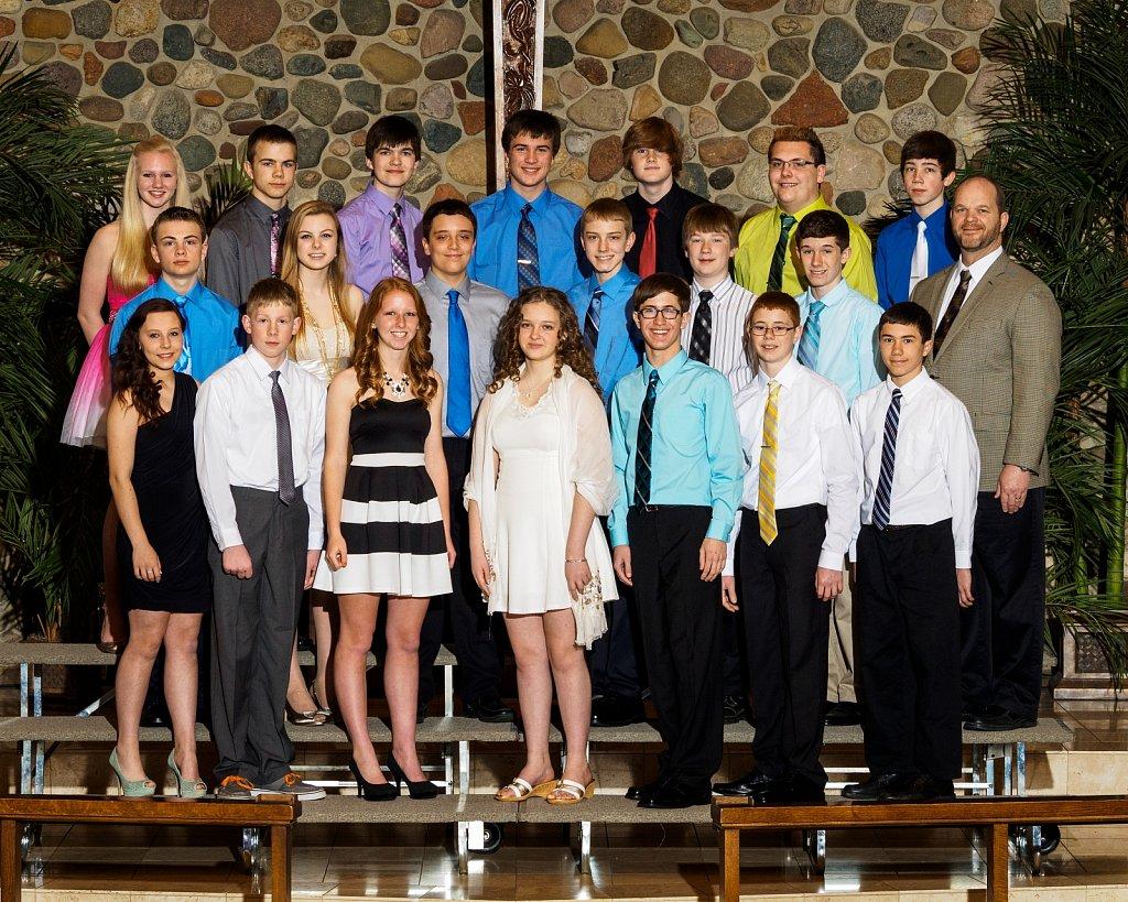 Eighth Grade Class 2014